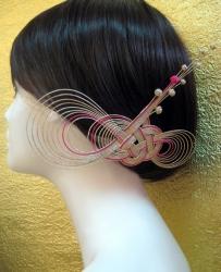 変わり淡路の髪飾り